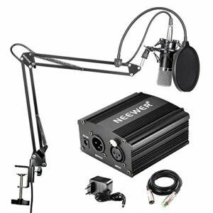 KIT Neewer NW-700 - Microfono Professionale a condensatore