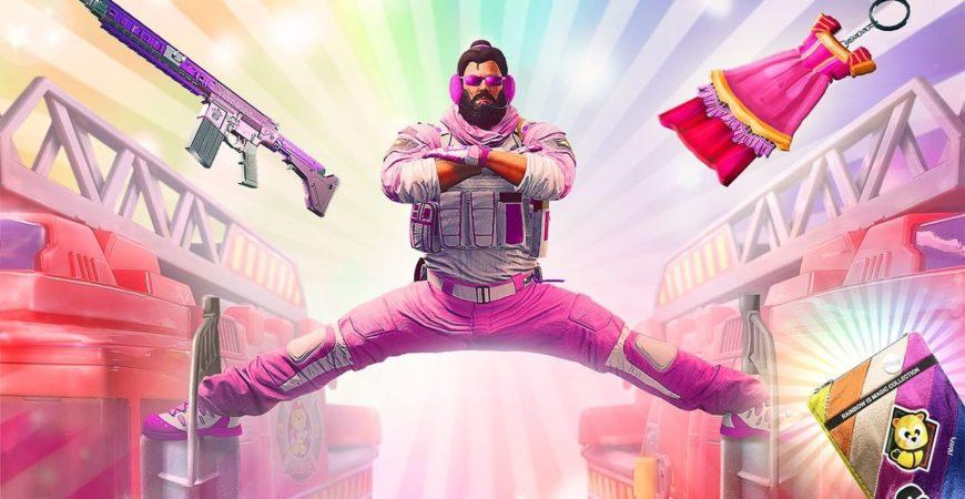 Rainbow Six Siege Match trasforma l'aereo in una terra magica dell'arcobaleno – IGN