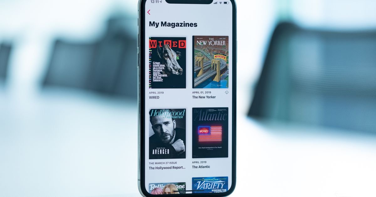 Una settimana con Apple Data Plus: un Netflix abbastanza sudicio per le riviste, The Verg