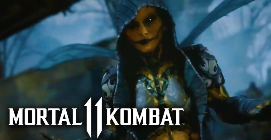 Mortal Kombat 11 – Educated Kitana & D'Vorah Indicate Trailer – GameSpot