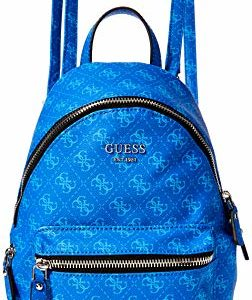 Guess Leeza Small Backpack, Zaino Donna, 10.5x29x22 cm (W x H x L)